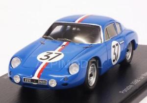 【送料無料】模型車 モデルカー スポーツカー アバルトポルシェカレラ#ルマンスパークporsche 356b carrera abarth gt 37 le mans 1961 buchet 143 spark s1362