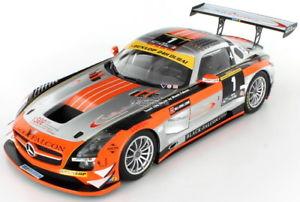 【送料無料】模型車 モデルカー スポーツカー メルセデスグアテマラチームアブダビアブダビmercedes sls amg gt3 team abu dhabi winner abu dhabi 12hrs 2013 118