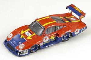 【送料無料】模型車 モデルカー スポーツカー ポルシェ#hリバーサイドporsche 935 t 46 wolleknarvaez 6h riverside 1983 spark 143 s1926