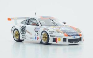 【送料無料】模型車 モデルカー スポーツカー ポルシェグアテマラ#ルマンスパークporsche 996 gt3 r79 ricciricciperrier le mans 2000 spark 143 s4759