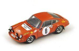 【送料無料】模型車 モデルカー スポーツカー ポルシェ#ヘルマーモンテカルロスパークporsche 911s 6 waldegaardhelmer winner monte carlo 1970 spark 143 s4023