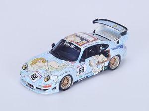 【送料無料】模型車 モデルカー スポーツカー ポルシェグアテマラ#グラハムラリビールルマンスパークporsche 911 gt2 68 grahamlaribierepoulain le mans 1998 spark 143 s4448