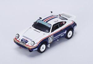 【送料無料】模型車 モデルカー スポーツカー ポルシェ#ダカールラリースパークporsche 953 176 megtelemoyne winner dakar 1984 spark 143 s4880