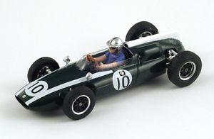 【送料無料】模型車 モデルカー スポーツカー クーパー#マクラーレンモナコスパークcooper t53 10 bmclaren 2nd gp monaco 1960 spark 143 s3511