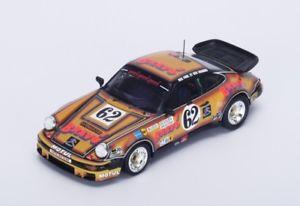 【送料無料】模型車 モデルカー スポーツカー ポルシェ#ルマンスパークporsche 930 62 bussigahinetbriavoine le mans 1978 spark 143 s4423