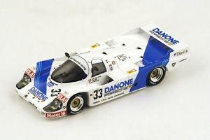 【送料無料】模型車 モデルカー スポーツカー ポルシェ#デルマンスパークporsche 956 33 de villotavelezfouche le mans 1986 spark 143 s4437