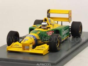 【送料無料】模型車 モデルカー スポーツカー ベネトン#ポルトガルスパークbenetton b193b 5 gp portugal 1993 143 spark s4774