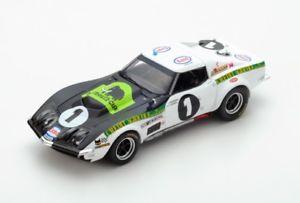【送料無料】模型車 モデルカー スポーツカー シボレーコルベット#ルマンスパークchevrolet corvette c3 1 bourdonaubriet le mans 1970 spark 143 s5073