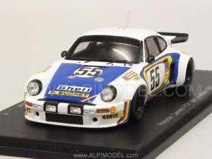 【送料無料】模型車 モデルカー スポーツカー ポルシェカレラ#ルマンレナスパークporsche 911 carrera rsr 55 le mans 1975 ballot lena 143 spark s4420