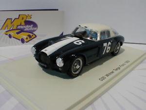 【送料無料】模型車 モデルカー スポーツカー スパークランチアタルガフロリオspark 43tf53 lancia d20 76 winner targa florio 1953 u mglioli 143