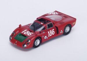 【送料無料】模型車 モデルカー スポーツカー アルファアルファロメオ#ガリタルガフローリオスパークalfa alfa romeo 332 186 giuntigalli targa florio 1968 spark 143 s4874