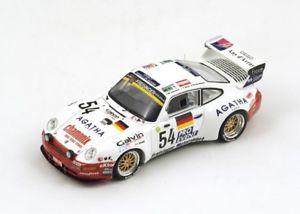 【送料無料】模型車 モデルカー スポーツカー ポルシェバイ#ルマンスパークporsche 911 biturbo 54 kaufmannligonnet le mans 1995 spark 143 s0993