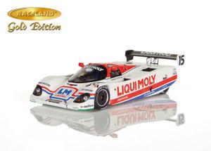 【送料無料】模型車 モデルカー スポーツカー ポルシェノリスリングバルディパーマーレーススパークイムporsche 962c rlr sieger norisring wm 1987 baldipalmer, raceland spark 143, lim