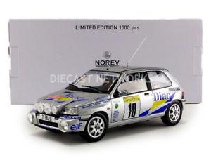 【送料無料】模型車 モデルカー スポーツカー ルノークリオウィリアムズモンテカルロラリーnorev 118 renault clio williams gr a rallye monte carlo 1994 185229