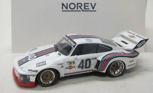 【送料無料】模型車 モデルカー スポーツカー ポルシェフランスporsche 935 france 24h 1976 stommelen 40 norev 118