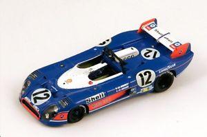 【送料無料】模型車 モデルカー スポーツカー #ルマンスパークmatra simca ms670b 12 jabouillejaussaud le mans 1973 spark 143 s3550