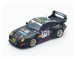 【送料無料】模型車 モデルカー スポーツカー ポルシェグアテマラ#ルマンスパークporsche 911 gt2 77 suzukikusterjurasz le mans 1996 spark 143 s4447