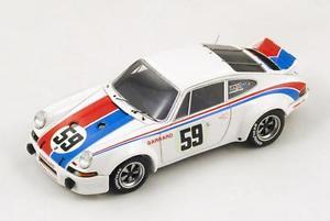 【送料無料】模型車 モデルカー スポーツカー ポルシェカレラ#グレッグヘイウッドデイトナスパークダporsche 911 carrera rsr 59 gregghaywood 1st daytona 1973 spark143 43da73