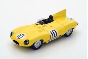 【送料無料】模型車 モデルカー スポーツカー ジャガー#ルマンスパークjaguar dtype 10 claesswaters le mans 1955 spark 143 s4388
