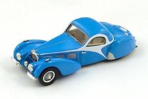 【送料無料】模型車 モデルカー スポーツカー ブガッティスパークbugatti t57 sc atalanta bluewhite 1937 spark 143 s2723