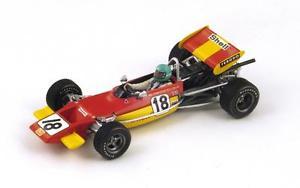 【送料無料】模型車 モデルカー スポーツカー ロータス#ポーグランプリスパークlotus 69 18 rwisell winner gp pau f2 1971 spark 143 s2147