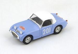 【送料無料】模型車 モデルカー スポーツカー オースティンヒーリースプライト#ラリーモンテカルロaustin healey sprite 201sprinzel rally monte carlo 1959 spark 143 s4124