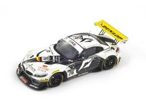 【送料無料】模型車 モデルカー スポーツカー #スパスパークbmw z4 76 wernersandstromhurtgen 2nd spa 2011 spark 143 sb012