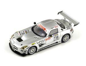 【送料無料】模型車 モデルカー スポーツカー メルセデスベンツグアテマラレース#シュナイダースパークシングルmercedes benz sls gt3 738 schneider 1 race in vln 2010 spark 143 sg006