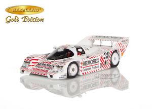 【送料無料】模型車 モデルカー スポーツカー ポルシェノリスリングフランクレーススパークporsche 962c memorex 4 norisring wm 1986 frank jelinski, raceland spark 143