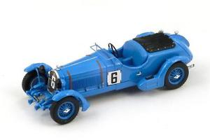 【送料無料】模型車 モデルカー スポーツカー アルファロメオ#ハウローズリチャーズルマンスパークalfa romeo 8c 6 ehowetrose richards le mans 1934 spark 143 s3887