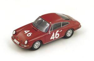 【送料無料】模型車 モデルカー スポーツカー ポルシェタルガフローリオ#porsche 911 46 killycahier targa florio 1967 spark 143 s4024