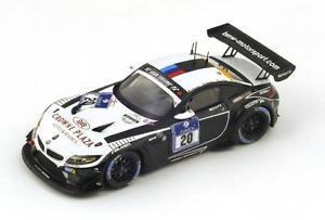 【送料無料】模型車 モデルカー スポーツカー グアテマラ#バウマンニュルブルクリンクスパークシングルbmw z4 gt3 20 klingmannbaumanntomczyk nrburgring 2014 spark 143 sg133