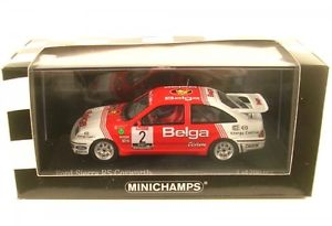【送料無料】模型車 モデルカー スポーツカー フォードシエラコスワースラリーford sierra rs cosworth 2 winner haspengouw rally 1987 droogmans joosten