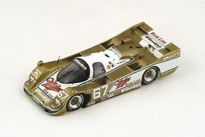 【送料無料】模型車 モデルカー スポーツカー ポルシェ#アンドレッティベルデイトナスパークダporsche 962 miller 67 andrettibell winner daytona 1989 spark 14343da89