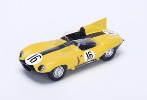 【送料無料】模型車 モデルカー スポーツカー ジャガータイプ#ルマンスパークjaguar dtype 16 frrerousselle 4th le mans 1957 spark 143 s2131
