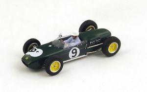 【送料無料】模型車 モデルカー スポーツカー ロータス#サーティースグランプリスパークlotus 18 9 jsurtees 2nd gp britain 1960 spark 143 s1825