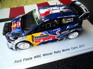 【送料無料】模型車 モデルカー スポーツカー #フォードフィエスタラリーモンテカルロオジェスパーク143 ford fiesta wrc 1 sogierjingrassia sieger rallye monte 2017 spark s5154