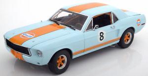 【送料無料】模型車 モデルカー スポーツカー グリーンライトフォードマスタングクーペ118 greenlight ford mustang coupe 1967 gulf