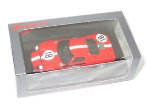 【送料無料】模型車 モデルカー スポーツカー フォードスクーデリアルマン#143 ford gt40 mk i scuderia filipinetti le mans 24 hrs 1967 18