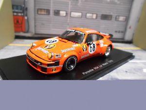 【送料無料】模型車 モデルカー スポーツカー ポルシェターボルマン#イェーガーマイスタースパークporsche 911 934 turbo le mans 68 jgermeister dren feitler holub 78 spark 143