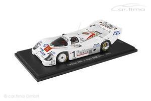 【送料無料】模型車 モデルカー スポーツカー ポルシェゾルダーボブスパークporsche 956 winner drm zolder 1983 bob wollek 1 of 300 spark cartima