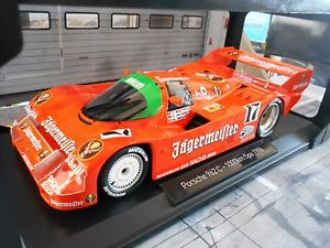 【送料無料】模型車 モデルカー スポーツカー ポルシェスパイェーガーマイスターブランporsche 962 956 ii 17 spa winner 1986 brun jgermeister boutsen norev 118