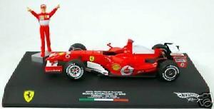 【送料無料】模型車 モデルカー スポーツカー フェラーリ#シューマッハーモンツァferrari 248 5 mschumacher winner monza 2006 mattel 118 j2994