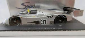【送料無料】模型車 モデルカー スポーツカー スパークメルセデスクリーン#ルマンミハエルシューマッハspark s1251 143 sauber mercedes c11  31 5th le mans 1991 michael schumacher