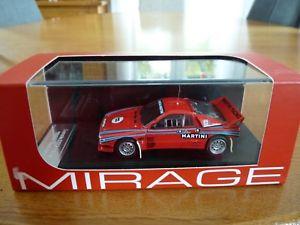 【送料無料】模型車 モデルカー スポーツカー ランチアテストカーアイテム143 hpi lancia 037 test car 1985 item 8233