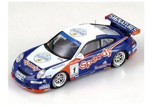 【送料無料】模型車 モデルカー スポーツカー ポルシェカレラカップスピーディ#クラスパークporsche 997 carrera cup speedy 1 abeltoise nogaro 2007 spark143 mx001