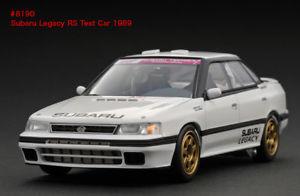 【送料無料】模型車 モデルカー スポーツカー スバルレガシィテストsubaru legacy rs test car white 1989 hpi 143 8190