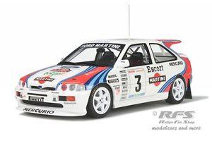 【送料無料】模型車 モデルカー スポーツカー フォードコスワースエスコートマティーニラリーオットーford escort rs cosworth gra martini rallye 1000 miglia 1995 118 otto 204