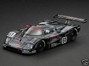 【送料無料】模型車 モデルカー スポーツカー メルセデス#ルマンレーシングsauber mercedes c9 aeg 61 le mans 1988 hpi racing 143 8064