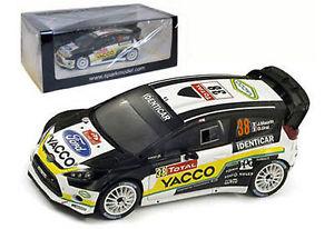 【送料無料】模型車 モデルカー スポーツカー スパークフォードフィエスタ#モンテカルロラリースケールspark s3347 ford fiesta rs wrc 38 monte carlo rally 2012 j maurin 143 scale